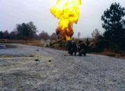 Lee and SEAL Master Blaster firing demolition shots.